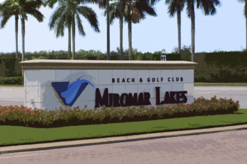 Entry at Miromar Lakes Beach & Golf Club