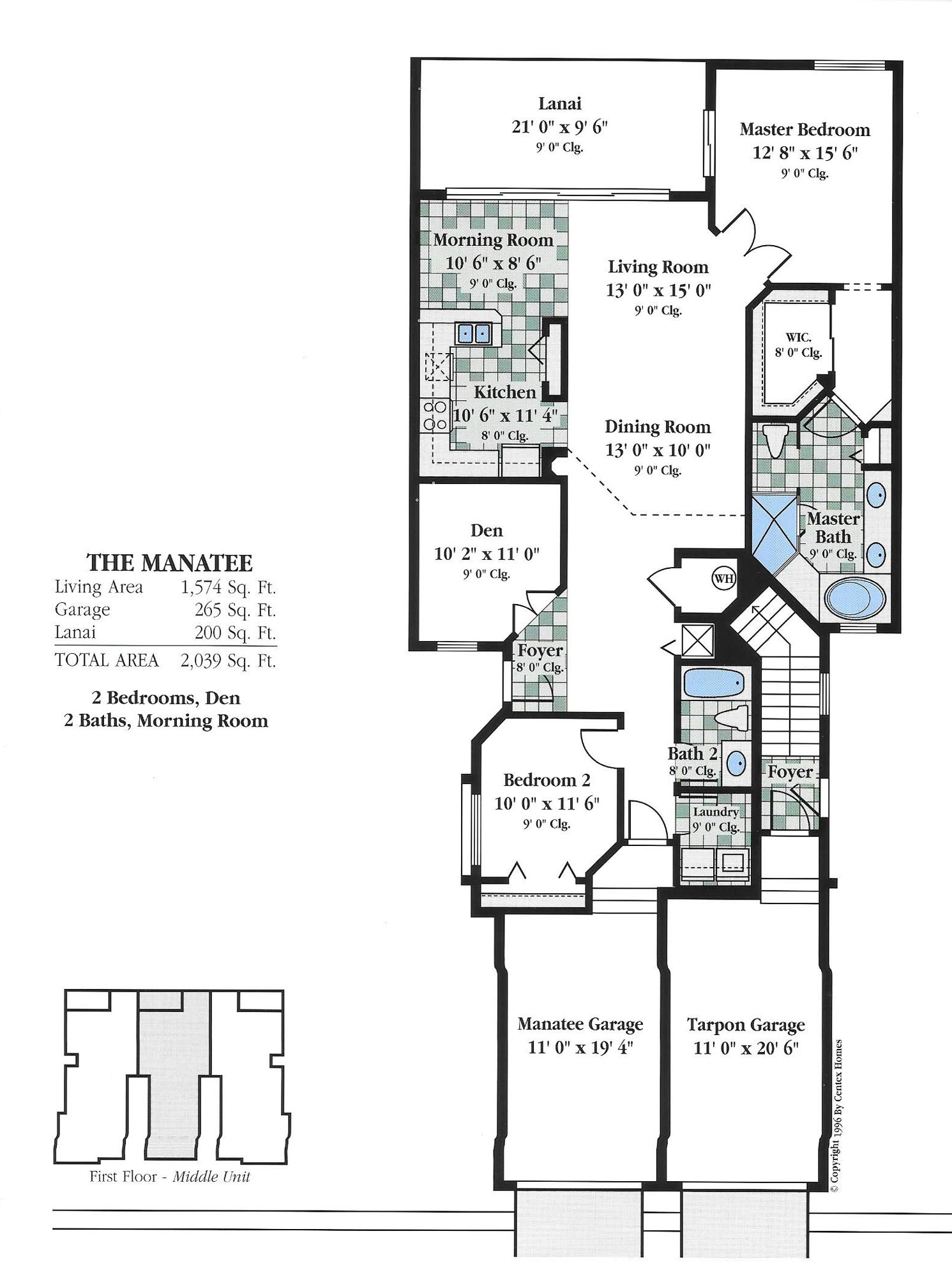 Baypointe on quail homes floor plans