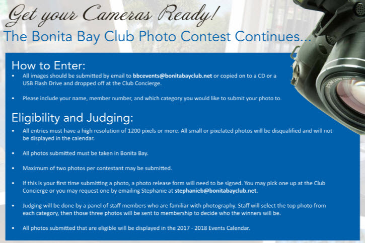 Bonita Bay Club Photo Contest