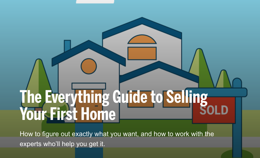 The Everything Guide to Selling Your First Home